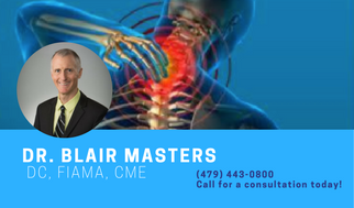 Dr  Blair Masters BLOG BIO